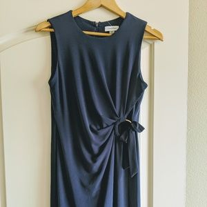 NEW Calvin Klein Sleeveless Navy Sheath Dress!